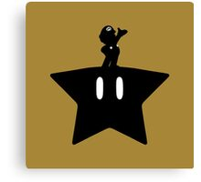 Mario - A Super Brother Canvas Print
