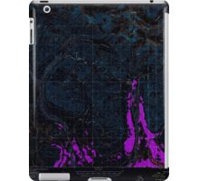 USGS TOPO Map Alaska AK Mount Hayes A-2 357621 1955 63360 Inverted iPad Case/Skin