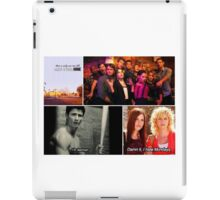 one tree hill collage  iPad Case/Skin