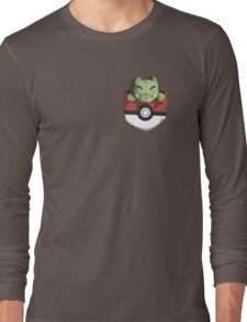 Pocket Substitute (Pokeball) Long Sleeve T-Shirt
