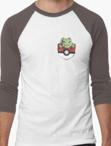 Pocket Substitute (Pokeball) Men's Baseball ¾ T-Shirt