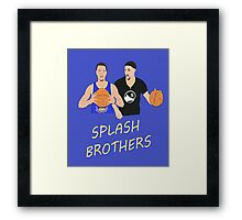 Splash Bros Framed Print