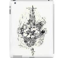 The Snow Queen // Black&White iPad Case/Skin