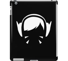 D.Va white iPad Case/Skin