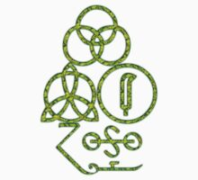 LED ZEPPELIN BAND SYMBOLS (TOXIC AVENGER) by Endlessgrief