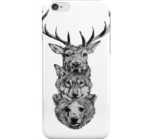 Animal Heads iPhone Case/Skin