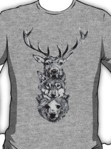 Animal Heads T-Shirt