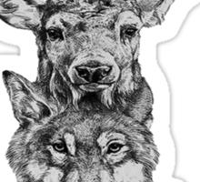 Animal Heads Sticker