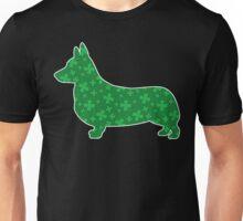 Shamrock Corgi Unisex T-Shirt