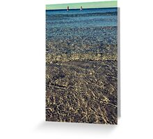Beach Waves Greeting Card