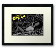 A Plastic World - The Outlaw Framed Print
