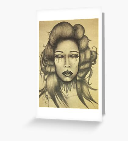 Ink Queen Greeting Card