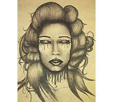 Ink Queen Photographic Print