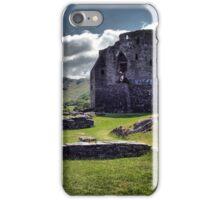 Dolbadarn Castle iPhone Case/Skin