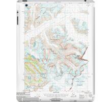 USGS TOPO Map Alaska AK Sumdum A-2 359349 2000 63360 iPad Case/Skin