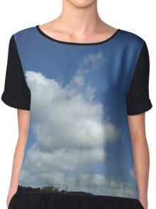 Clouds Chiffon Top