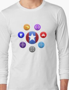 Heroic Archetypes v1 Long Sleeve T-Shirt