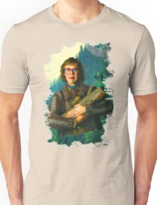 """Twin Peaks The Log Lady  """"The Log Knows"""" Unisex T-Shirt"""