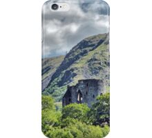 Dolbadarn Castle 2 iPhone Case/Skin