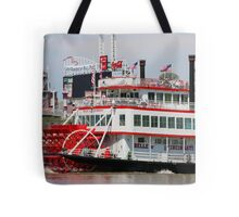 Paddle Wheel - Belle of Cincinnati 2014 Tote Bag