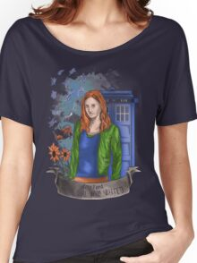 The girl WHO waited. Women's Relaxed Fit T-Shirt