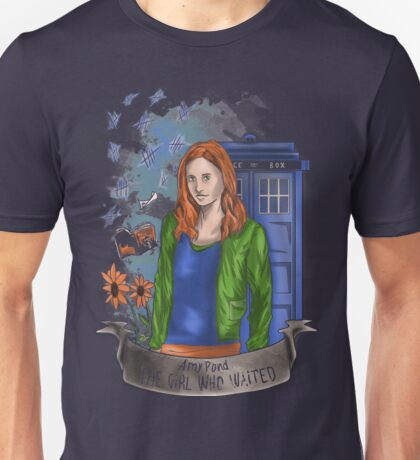 The girl WHO waited. Unisex T-Shirt