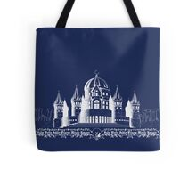 Silent Moon Kingdom - Navy Tote Bag