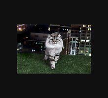City Cat on Grass Unisex T-Shirt