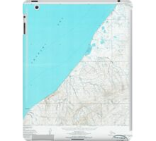 USGS TOPO Map Alaska AK Point Lay A-3 and A-4 358444 1955 63360 iPad Case/Skin