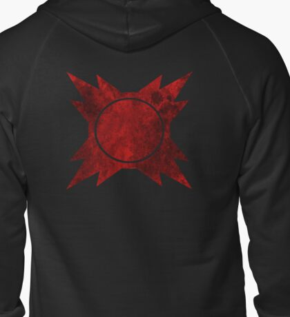 Sith symbol Zipped Hoodie