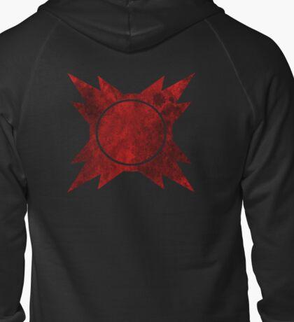 Sith symbol Zipped Hoodie