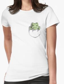Pocket Substitute  Womens Fitted T-Shirt