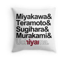 TEAM JAPAN (WOMEN) Throw Pillow