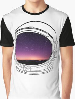 Sunset on the Moon Graphic T-Shirt