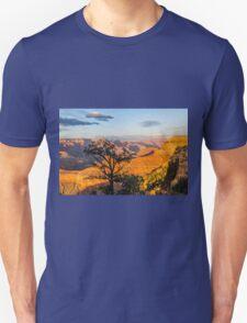 Grand Canyon - Pine Tree Silhouette Unisex T-Shirt
