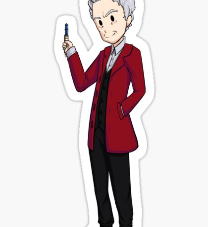 The 12th Doctor Sticker