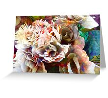 Battered Silk Greeting Card