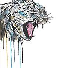 Snow Leopard by Calum Margetts Illustration