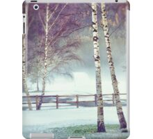 Two birches iPad Case/Skin