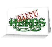 Happy Herbs Greeting Card