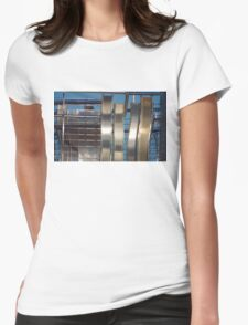 Rhyl Metal Womens Fitted T-Shirt