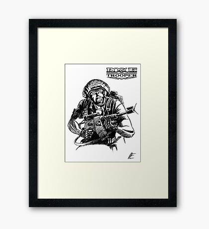 Rogue Trooper - Friday Framed Print