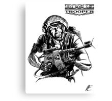 Rogue Trooper - Friday Canvas Print