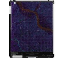USGS TOPO Map Alaska AK Charley River A-2 354854 1956 63360 Inverted iPad Case/Skin