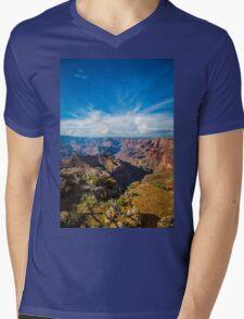 Grand Canyon - Navajo Point View Colorado River Mens V-Neck T-Shirt