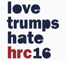 Womens Hillary 2016 shirt - Love Trumps Hate Hillary Womens Shirt One Piece - Long Sleeve