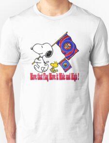 Wave that Flag Unisex T-Shirt