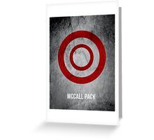 McCall Pack Greeting Card