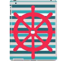 rudder iPad Case/Skin