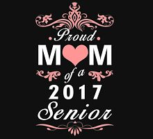 Proud Mom of a 2017 Senior Womens Fitted T-Shirt